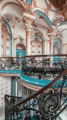 Baroque Architecture, Classic Architecture, Beautiful Architecture, Beautiful Buildings, Beautiful Places, Aesthetic Pastel Wallpaper, Aesthetic Backgrounds, Aesthetic Wallpapers, Travel Aesthetic