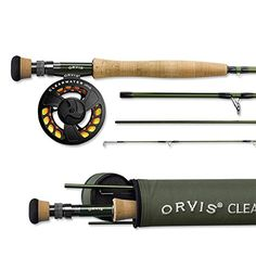 Orvis Clearwater Saltwater Fly Fishing Rods The all new Clearwater® Series reaps the rewards of our award-winning Helios™ technology. The Orvis Clearwater Saltwater Fly rods range from a 6 weight to a Best Fly Fishing Rods, Fly Fishing Gear, Fishing Rods And Reels, Rod And Reel, Fly Rods, Fishing Tackle, Trout Fishing, Fishing Lures, Fishing 101