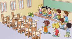 DESENHOS XANDI: na sala de aula
