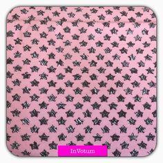Baumwoll Jersey Sterne, rosa,50 cm von InVotum auf Etsy