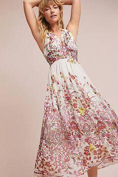 266dd42085e0 Nikhita Dress Red Chiffon, Floral Chiffon, Floral Print Maxi Dress, Mob  Dresses,