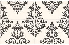 Contour Pallade Wallpaper - Black and White