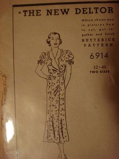 30s wrap dress | Flickr - Photo Sharing!