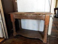 Antique Red Cedar Wash-stand - Bobbin Reel Legs | Antiques | Gumtree Australia Ipswich City - Ipswich | 1173161036