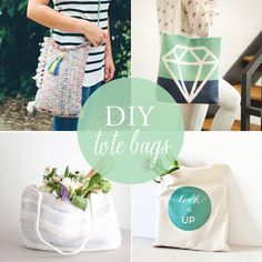 10 DIY tote bags for summer at Babble.com