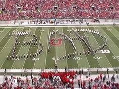 This is the Ohio State Marching Band 10/19/13. Another fantastic performance by TBDBITL (The Best Damn Band In The Land) recreating Michael Jackson moon walking across the field at 4:20 mins SO COOL!!  Singing is the OSU Gospel Voices. Well Done!