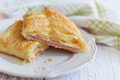 Forró reggeli szendvics, leveles tésztából | Rupáner-konyha