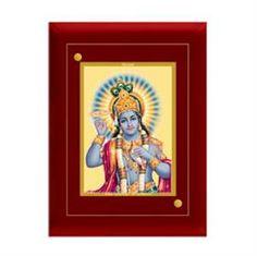 Lord Vishnu House warming Gifts, Car Frames, God Gifts