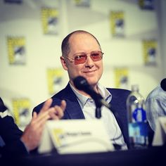 James Spader made a powerful impression at #TheBlacklist panel at #SDCC. Love Blacklist!  the part was written for him.