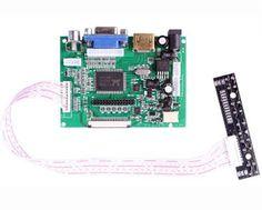 7インチ液晶ディスプレイ画面tftモニター用at070tn90 hdmi vga入力タッチ
