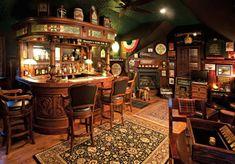 Last Trending Get all images home pub decor Viral bf f e a ba d Pub Interior, Restaurant Interior Design, Modern Restaurant, Home Wet Bar, Bars For Home, Pub Bar, Cafe Bar, Basement Dry Bar Ideas, Irish Pub Decor