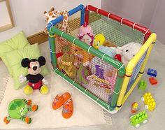 Manualidades y Artesanías   Guarda juguetes   Utilisima.com