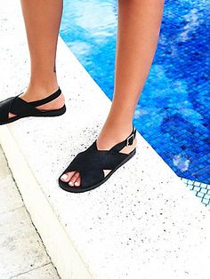 Poolside Sandal freepeople - bought these in ecru!