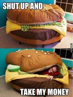 bring that to camp as a sleeping bed would be awesome