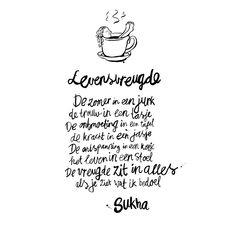 Levensvreugde #poem in dutch