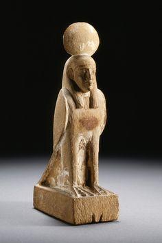 Wooden scultpure of Ba. New Kingdom (?). 1550-1070 B.C.E. | Los Angeles County…