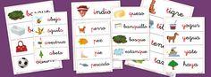 Fichas de vocabulario