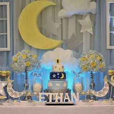 Twinkle, twinkle little star Baby Shower Party Ideas | Photo 1 of 4