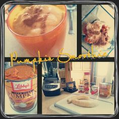 Healthy and Super Yummy Pumpkin Pie Substitute!:)