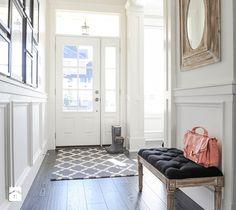 Dom w stylu nowojorskim - Hol / przedpokój, styl klasyczny - zdjęcie od Casa Bianca