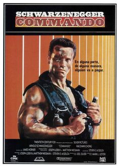 Commando (1985) Movies Of The 80's, Sci Fi Movies, Movies And Tv Shows, Iconic Movies, Classic Movies, Arnold Schwarzenegger Movies, Arnold Schwarzenegger Bodybuilding, Chroma Key, Alyssa Milano Movies