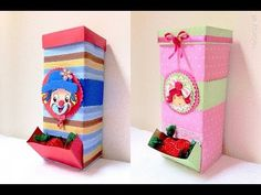 Diy And Crafts, Arts And Crafts, Paper Crafts, Handmade Paper Boxes, Tetra Pack, Ant Art, Cardboard Toys, Craft Work, Handicraft