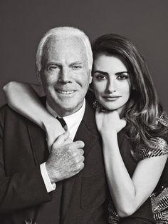 Rencontre avec Giorgio Armani et Penélope Cruz : le magnat de la mode et sa rencontre avec la muse d'Almodovar