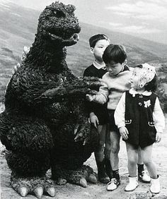 Godzilla and friends.