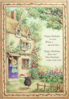 Happy Birthday By Susan Wheeler Holly Pond Hill
