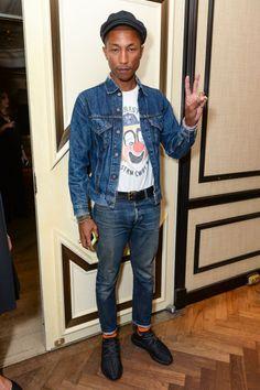 The 28 best dressed men of 2015: Pharrell Williams