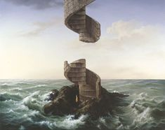 Samy Charnine ~ Surrealist painter