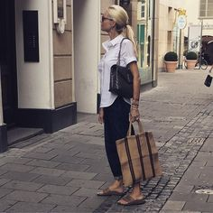 """shop owner - Max Laurenz on Instagram: """"#myoutfitoftheday #goodforwork#mystyle#mixandmatch #munich #instagood #instyle#🖤"""" Shops, Louis Vuitton Neverfull, Munich, Straw Bag, Tote Bag, My Style, Instagram, Bags, Inspiration"""