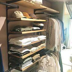 Minimal Wardrobe, Shoe Rack, Diy And Crafts, How To Plan, Bedroom, Closet, House, Design, Home Decor