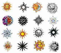 Sun tattoo addition to my zodiac sign
