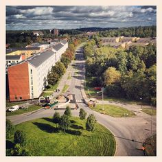 INK361 - Photo - #instagram #city #instagood #instatrip #travel #moment #instacity #travelling #trip #Stockholm #photography #building #green #street #roof #view #sunny #sun #morning #autumn #autumn #trees #sky #ff #friday #workers #square #swedishautumn12 #swedishautumn #sweden
