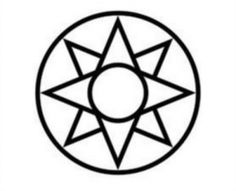 The 8 pointed star symbolizes hope and guidance. A circle around other Native American symbols signifies protection.