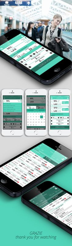 Book flights - App on Behance