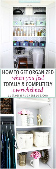 Home organization, overwhelmed, organization overwhelm, organized, get organized, organizing