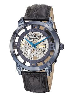 Stuhrling Original Men's Winchester Grand Blue Watch