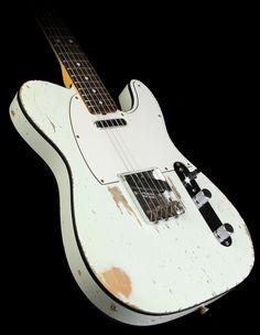 Olympic White Tele w/ Black Binding