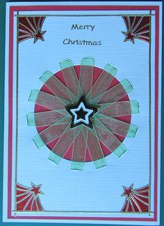 Christmas card made at a Cardonnay class.
