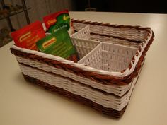 DIY: Hand-woven Spice Holder Basket