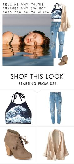 """""""No Hush- Wynter Gordon"""" by kimabalee ❤ liked on Polyvore featuring Motel, Levi's, Journee Collection and WithChic"""