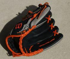 628056587cdb25 Carlos Correa s Wilson A2000 CC1 (1787) Glove. Carlos CorreaMajor League CleatsMlbGlovesBaseballFootball BootsCleats ShoesFootball Shoes. What Pros  Wear ...