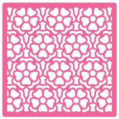 Good Afternoon! I have a new freebie for you today, it's a Flower patterned Stencil or Background SVG, I used it to emboss the backing paper in today's card. I cut 2 copies from thick a…