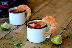 Caldo de camarón   La Cocina Mexicana de Pily