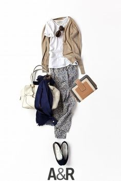 Love this casual and relaxed look for the office Japan Fashion, Work Fashion, Daily Fashion, Fashion Looks, Mode Outfits, Fall Outfits, Casual Outfits, Fashion Outfits, Womens Fashion