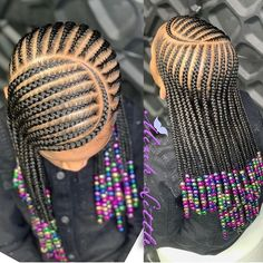 Braids for Kids, 50 Splendid Braid Styles for Girls, The Right Hair styles you can count on. Little Girl Braid Styles, Kid Braid Styles, Little Girl Braids, Girls Braids, Braids For Black Kids, Kid Styles, Girl Hair Braids, Cornrow Styles For Kids, Kids Braids With Beads