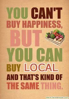 The farmer's markets are coming!The CSA's are coming!!