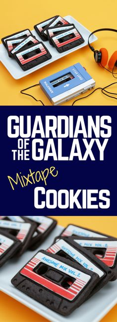 Guardians of the Galaxy Mixtape Chocolate Cookie Recipe